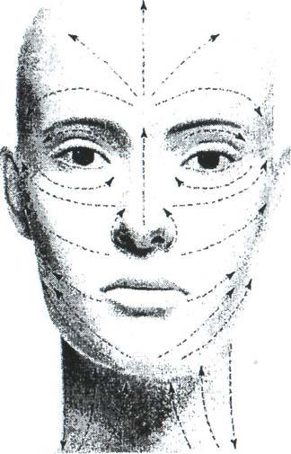 Массажные линии лица: От